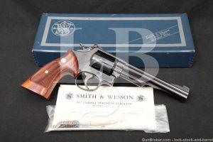 "Smith & Wesson S&W Model 19-2 19 2 Blue 6"" .357 Mag Revolver MFD 1967 C&R"