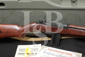 Underwood M1 Carbine Austrian Police .30 Semi Automatic Rifle MFD 1944 C&R