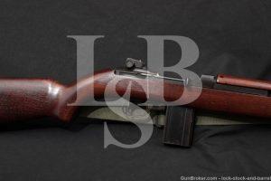 Winchester M1 Carbine .30 Cal Semi Automatic Rifle MFD 1943 C&R