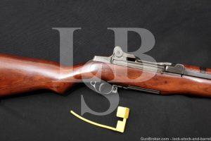 Winchester M1 Garand Rare First Contract .30-06 Semi-Automatic Rifle C&R