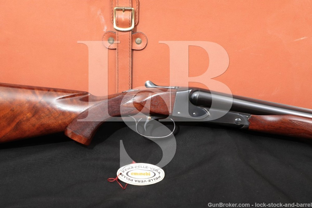 Winchester Model 21 SST Ejectors 12 GA SXS Side by Side Shotgun, 1953 C&R