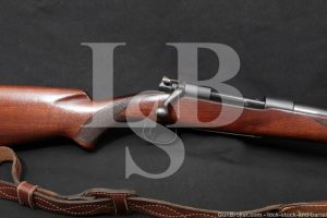 """Winchester Model 54 24"""" .30-06 Springfield Bolt Action Rifle, MFD 1927 C&R"""