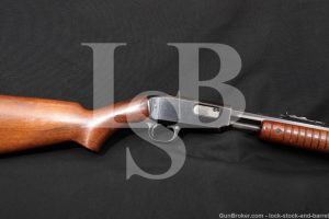 "Winchester Model 61 Blue 24"" 22 W.R.F. Pump Slide Action Rifle MFD 1939 C&R"