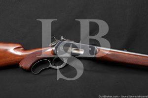 "Winchester Model 71 Deluxe Like 1886 24"" .348 Win Lever Rifle, MFD 1936 C&R"