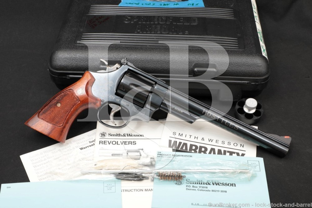 251 of 500 Smith & Wesson S&W 29-5 Hostiles 101207 .44 Mag Revolver 1990