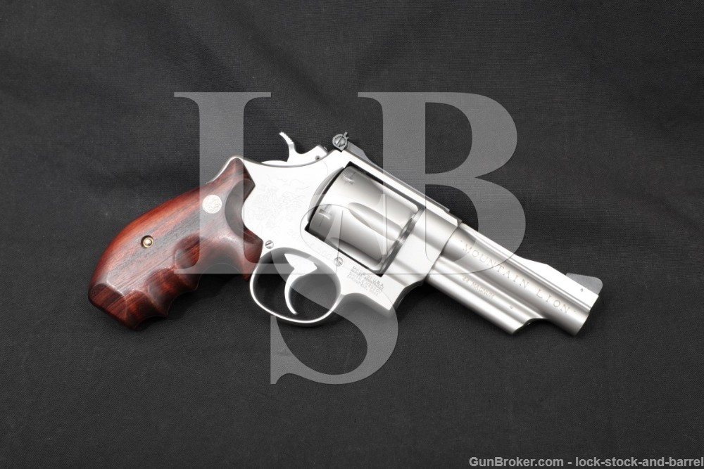 251 of 500 Smith & Wesson S&W 629-2 Mountain Lion .44 Mag 4″ Revolver 1990