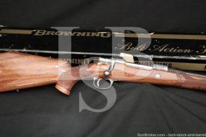Alfonse Marechal FN Browning High Power Olympian Grade .30-06 Sprg 1970 C&R