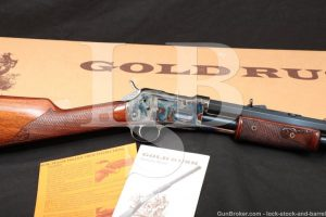 "Beretta Uberti Gold Rush Deluxe Blue 24"" .45 LC Pump Slide Action Rifle"