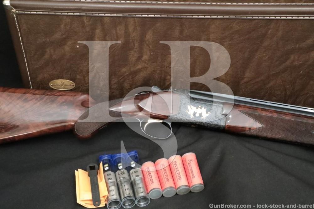 """Browning Citori Lightning Grade VI 6 Engraved 12 GA 26"""" O/U Shotgun 1992"""