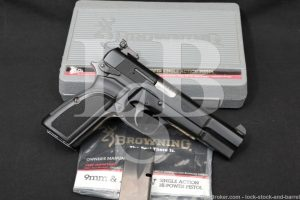 "Browning Model Hi-Power Mk. III Mark 3 .40 S&W 4 5/8"" Semi-Auto Pistol 1993"