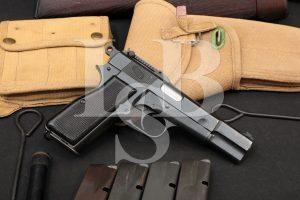 Chinese Contract Inglis MK. I* MKI* Hi Power 9mm Semi-Auto Pistol, 1945 C&R