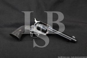 """Colt 3rd Generation Single Action Army SAA Blue 5 1/2"""" .45 Revolver, 1981"""