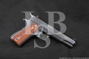 Colt Commercial Government Model 1911 .45 ACP Semi-Auto Pistol, 1968 C&R