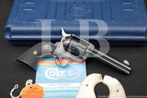 "Colt Cowboy Model CB1840 Blue 4 3/4"" .45 LC Single Action Revolver, 2002"