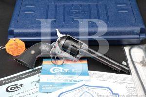 "Colt Cowboy Model CB1850 Blue 5 1/2"" .45 LC Single Action Revolver, 1999"
