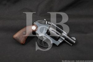"""Colt Detective Special 2nd Issue .38 Spl 2"""" Double Action Revolver 1966 C&R"""