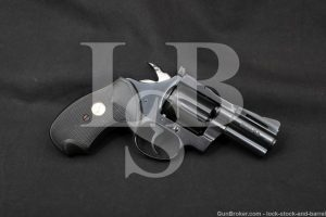 "Colt Diamondback Model D5520 2 1/2"" Blue .38 Special Revolver, 1976 NO CA"