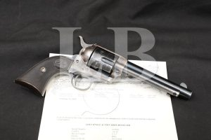 """Colt Frontier Six Shooter SAA 5 1/2"""" 44-40 Winchester WCF Revolver 1912 C&R"""