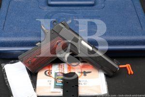 Colt Gunsite Lightweight Commander O4840CGP .45 ACP Semi-Auto Pistol, 2017