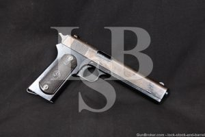 Colt Model 1902 Military 38 ACP Rimless Smokeless Semi-Auto Pistol 1915 C&R