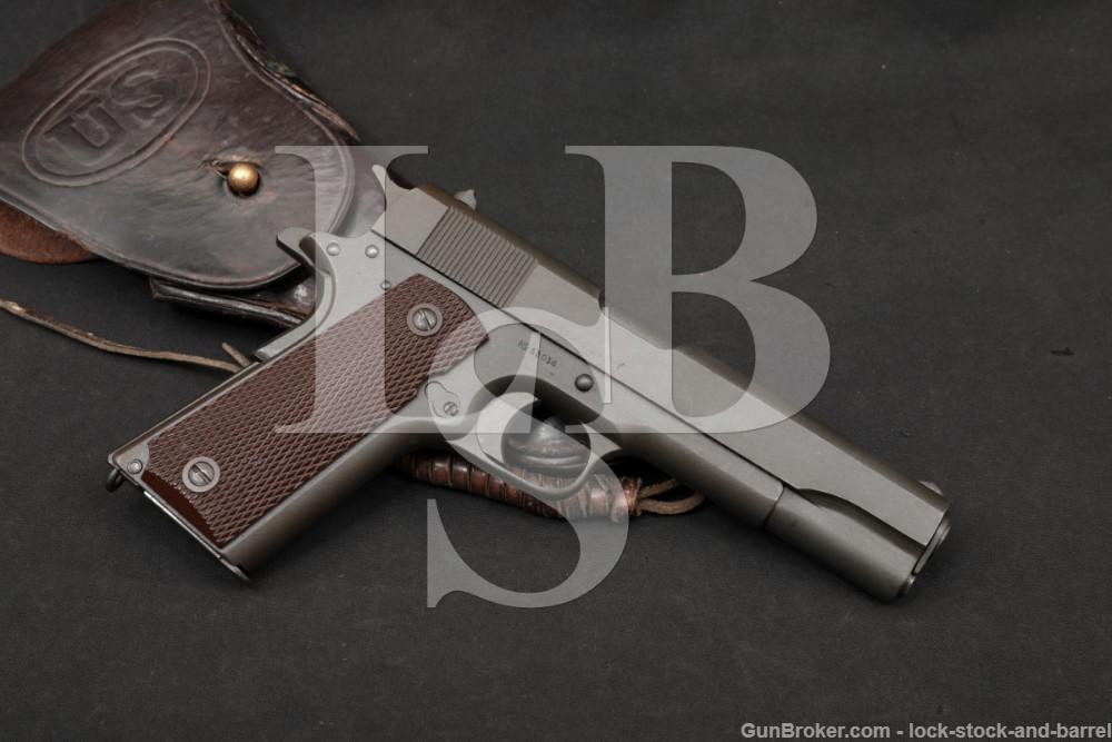 Colt Model of 1911 US Army Augusta Arsenal 45 ACP Semi-Auto Pistol 1913 C&R