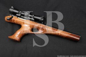"Custom Remington Model XP-100 250 Savage 12"" Single Shot Bolt Action Pistol"