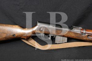 Czech VZ 52/57 VZ52 7.62x39 Folding Bayonet Mag Fed Semi Auto Rifle C&R