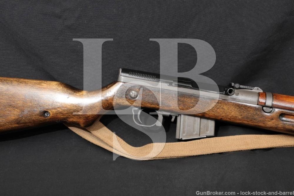 Czech VZ 52/57 VZ52 7.62×39 Folding Bayonet Mag Fed Semi Auto Rifle C&R