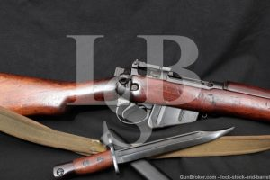 Enfield No5 Mk1 Jungle Carbine .303 British Bayonet Bolt Action Rifle C&R