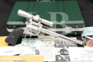 """Freedom Arms Model 83 Field Grade .454 Casull 10"""" Stainless Revolver 1991"""
