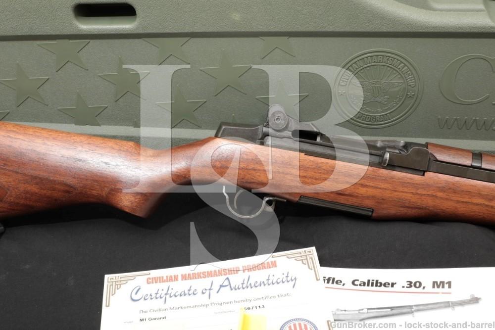 H&R M1 Garand Harrington & Richardson .30-06 Semi Auto Rifle CMP Case C&R