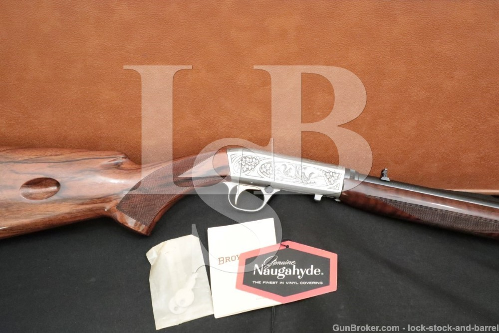 Jose Baerten Engraved SA-22 Grade II 2 SA22 .22 LR Takedown Rifle 1963 C&R