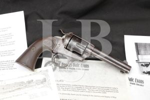 Roy Rogers' Colt Bisley Single Action Army SAA .45 Revolver, MFD 1903 C&R