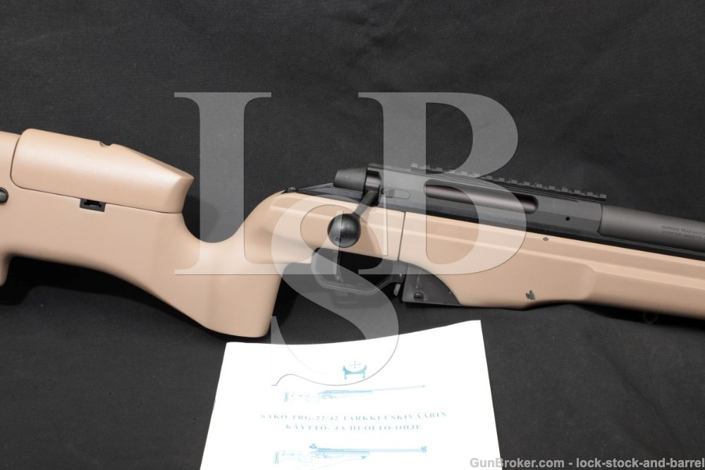 Sako Model TRG-42 TRG42 .338 Lapua Mag 27″ Tactical Bolt Action Rifle 2011