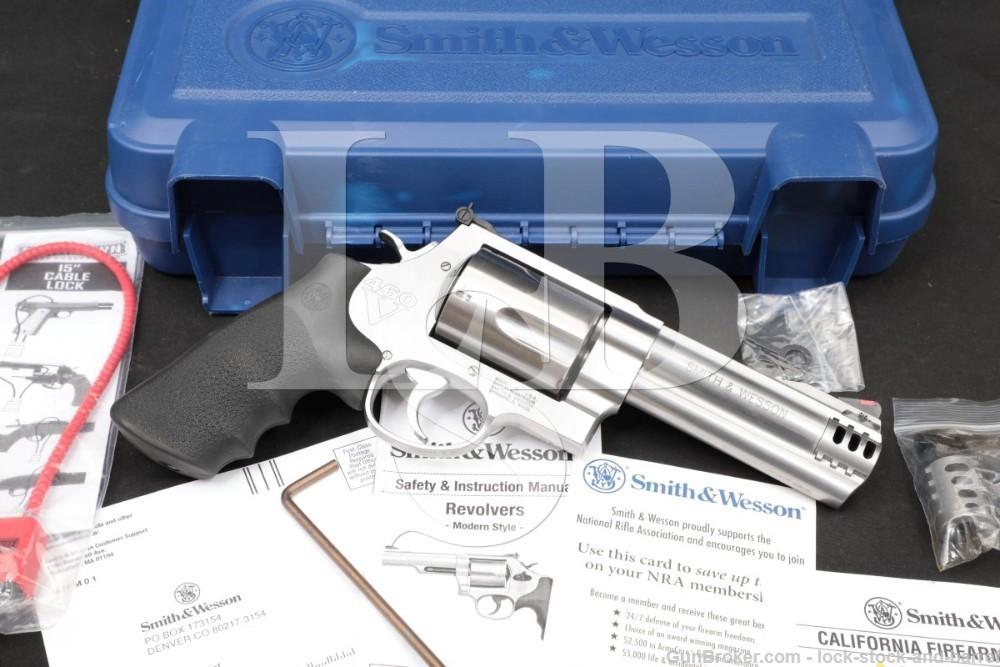 Smith & Wesson Model 460 XVR 163465 .460 S&W Magnum 5″ DA/SA Revolver 2018