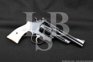 """Smith & Wesson S&W .357 Magnum Pre-Model 27 5"""" DA/SA Revolver 1954-1955 C&R"""