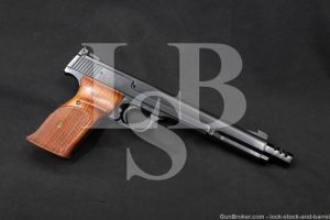 """Smith & Wesson S&W Model 41 .22 LR 7 3/8"""" Semi-Auto Pistol, MFD 1973-1974"""