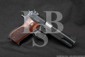 """Smith & Wesson S&W Model 52-1 .38 Master Single Action 5"""" Semi-Auto Pistol"""