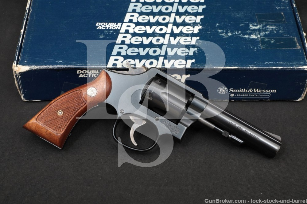 Smith & Wesson S&W Model 547 9mm 4″ Double Action Revolver MFD 1983 NO CA