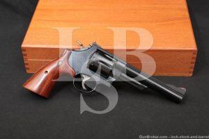 "Smith & Wesson S&W Model 57 No Dash 6"" 41 Magnum DA/SA Revolver 1973 NO CA"