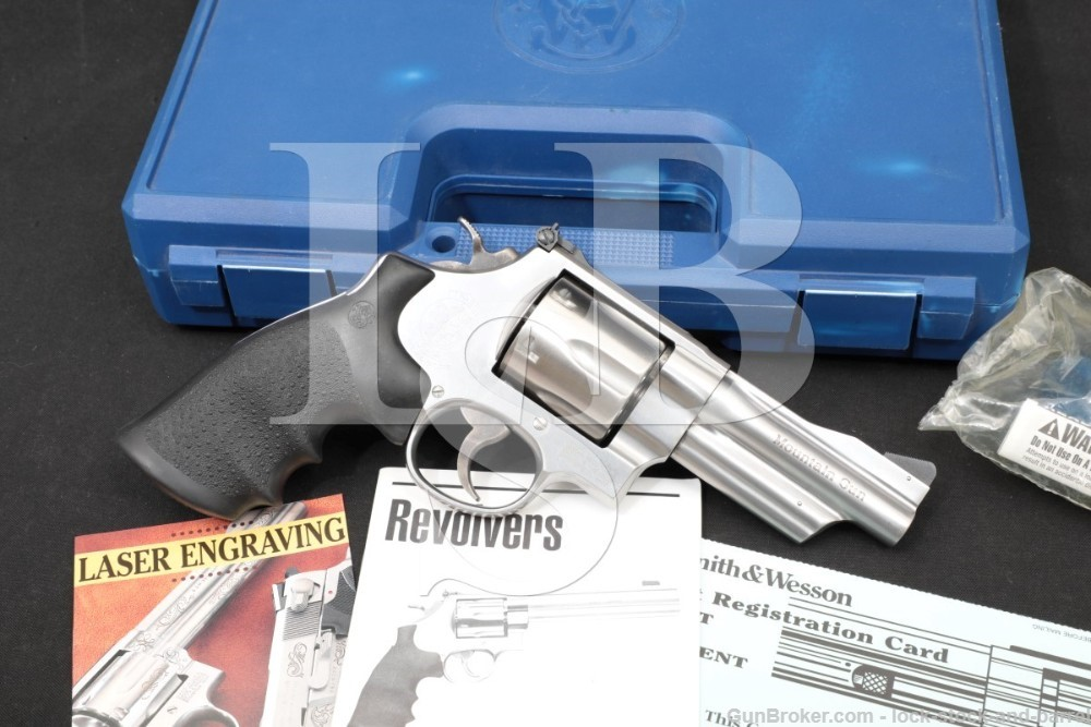 Smith & Wesson S&W Model 629-5 Mountain Gun 103656 .44 Mag 4″ Revolver 1999