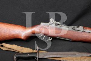 Springfield M1 Garand .30-06 CMP Rebuild Semi Automatic Rifle Bayonet C&R