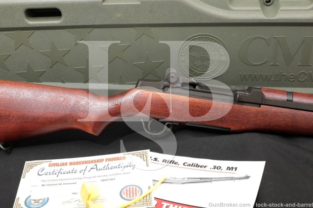 Springfield M1 Garand .30-06 Semi Automatic Rifle CMP Certificate C&R