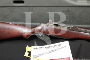 Springfield M1 Garand .30-06 Semi Automatic Rifle CMP Hard Case C&R