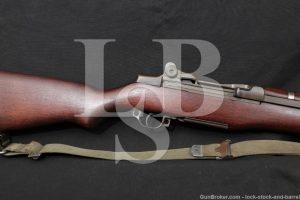 Springfield M1 Garand .30-06 Semi Automatic Rifle MFD 1942 C&R