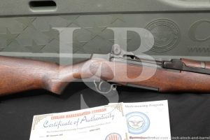 Springfield M1 Garand .308 CMP Conversion Semi Auto Rifle Hard Case C&R