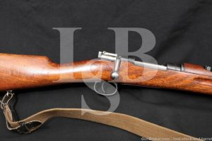 Swedish Mauser 1938 Short Rifle Husqvarna M38 6.5x55 Bolt Action C&R