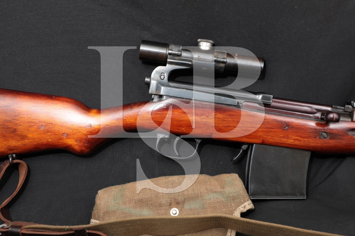 Tula SVT-40 SVT40 Sniper-Style 7.62x54R Semi-Auto Military Rifle, 1942 C&R