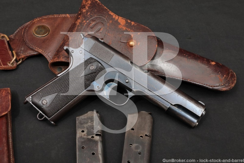 U.S. Army Colt Model of 1911 Serial Number 173, 1st Year, 3rd Shipment 1912