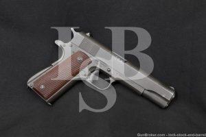 WWII Ithaca British Lend-Lease US M1911A1 .45 ACP Semi-Auto Pistol 1943 C&R